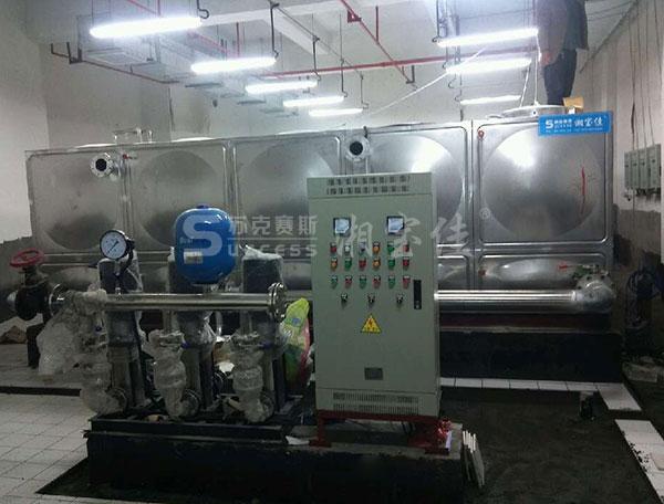 不锈钢水箱内置自洁消毒器案例